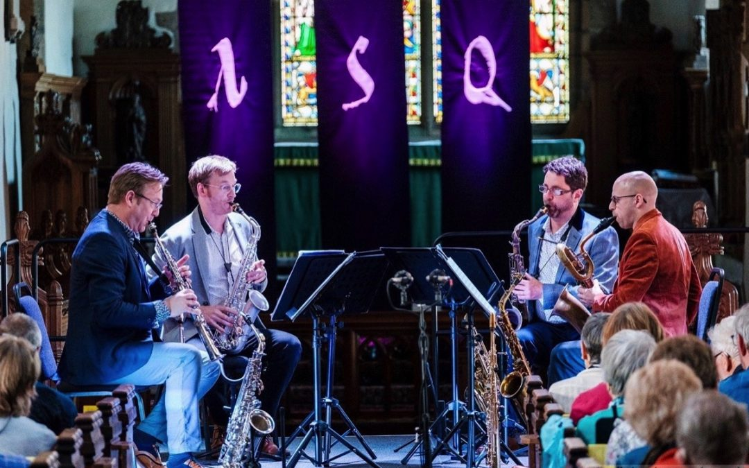 Apollo Saxophone Quartet Workshop